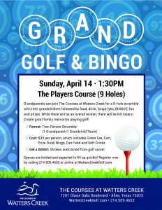 TCWC Grand Golf Flyer